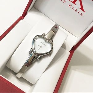 Anne Klein • Heart Watch in Silver